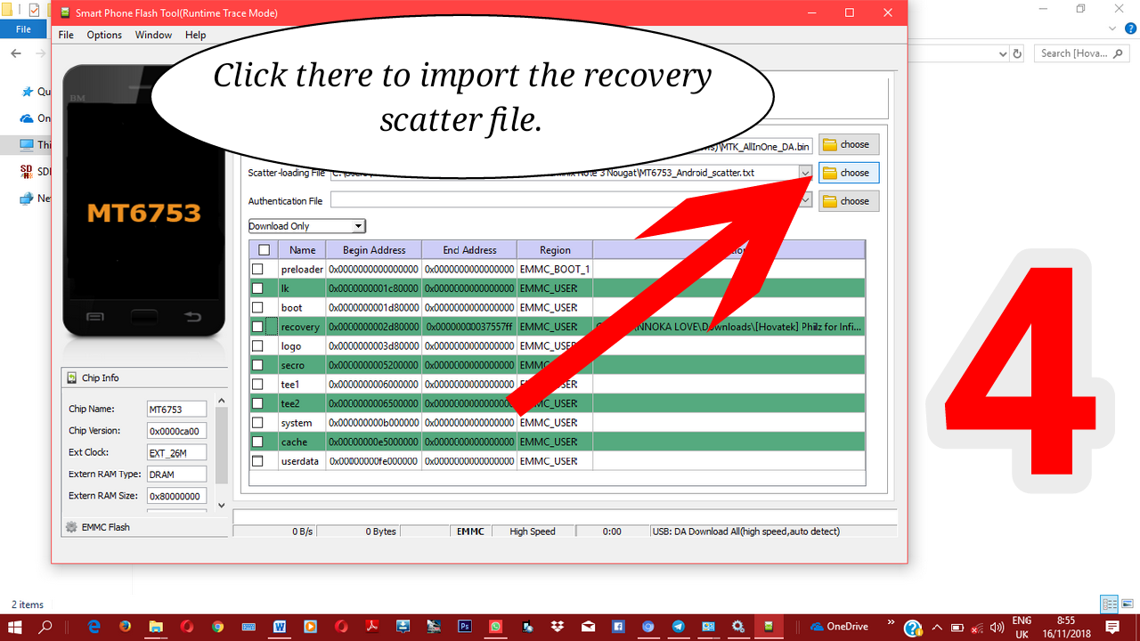 Easy step to flash recovery and install Super Su(ROOT)