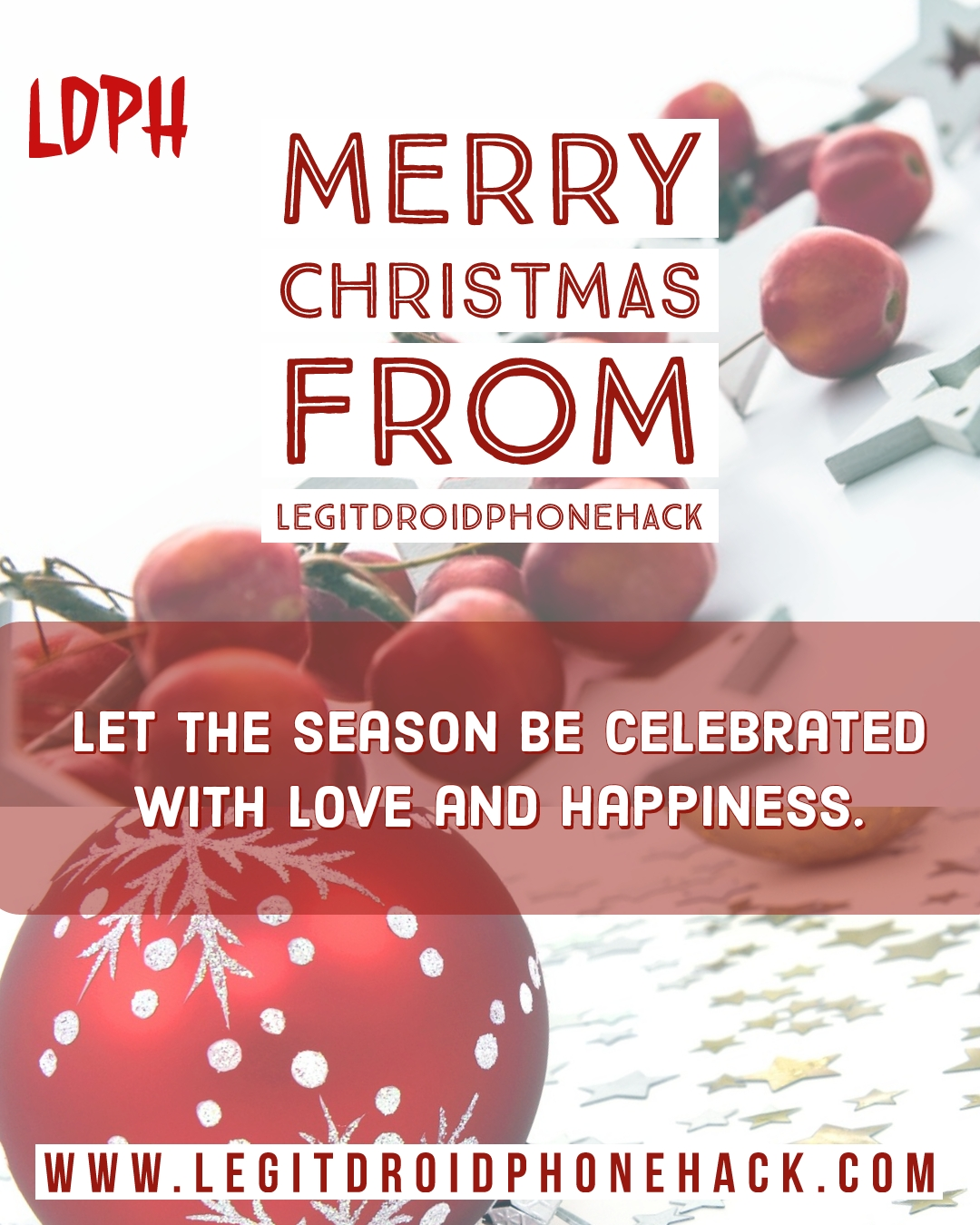 Merry Christmas Wish And Freebies From LDPH