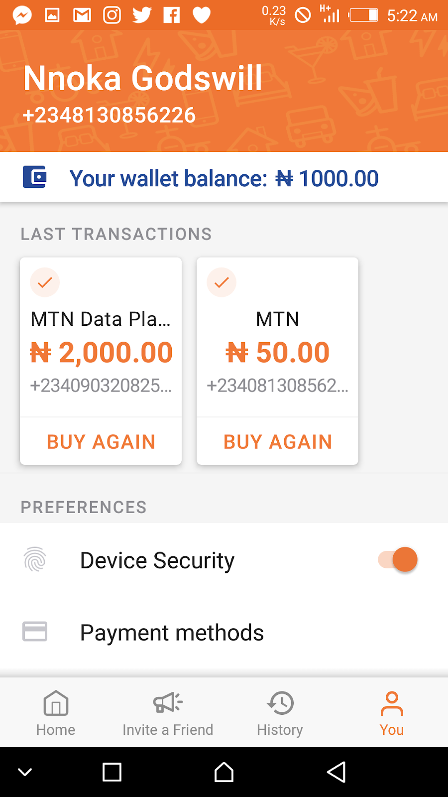 How to Get Free N500 Airtime On any network
