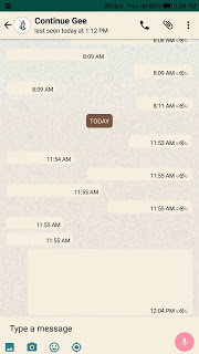 How to hide Whatsapp messages from intruders