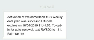 How to qualify for MTN WBACK data subscription #200 for 1gig