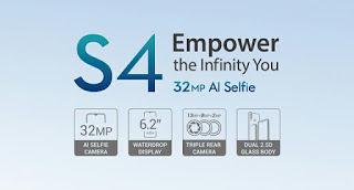 See the newly launched Infinix s4 specifications