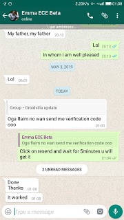 How to get verification code in less than 5minutes on flaim