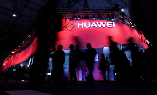Google Suspends Some Business With Huawei, Reuters Reports