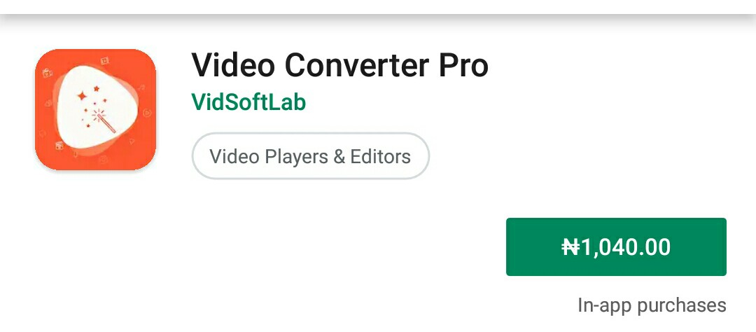 Video coverter PRO: paid