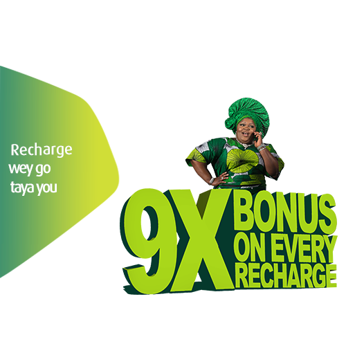 Get 9X Bonus On all 9Mobile recharge Of N200 And Above