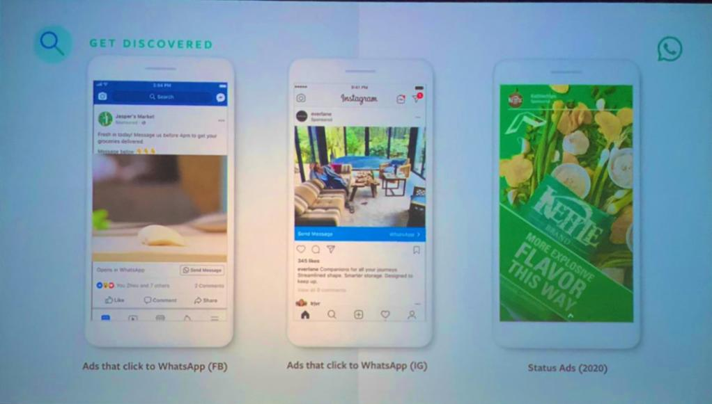 Whatsapp to have in stories ads 2020