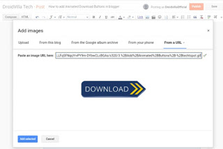 How to add Animated Download Buttons in blogger 2021
