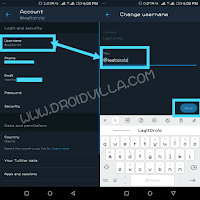 How to change twitter username - Image guide