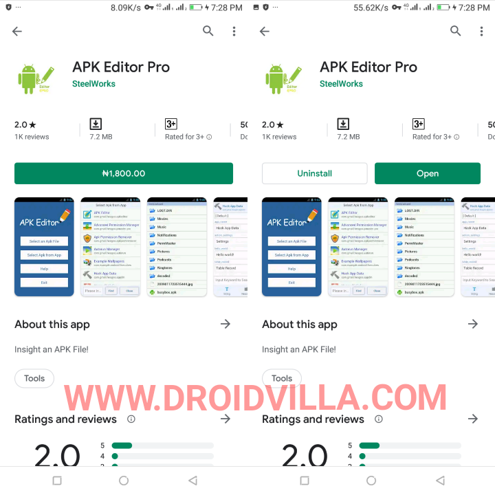 Apk Editor PRO download:Paid