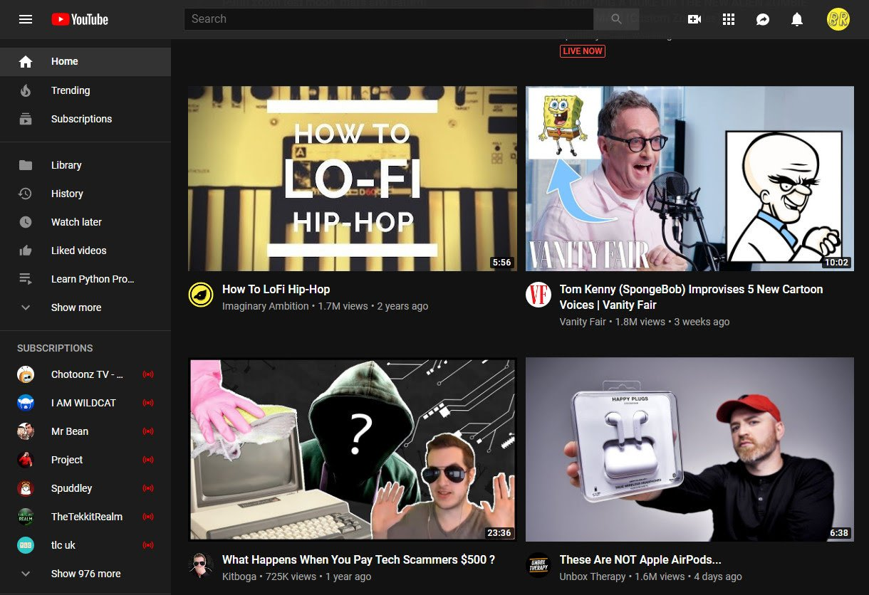 YouTube now have a bigger image thumbnail which is being criticized by youtubers