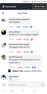 How to qualify for airtel special data offers N500 for 2gb and N1000 for 4gb
