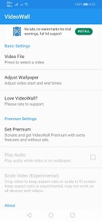 How to make video wallpaper on Android