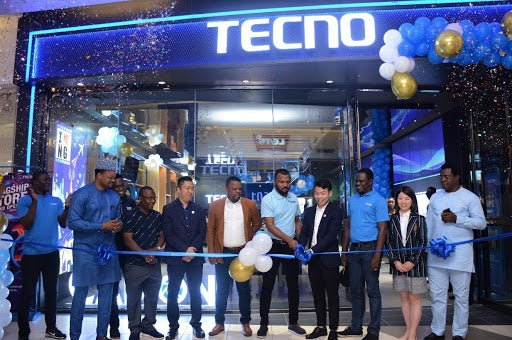 TECNO's flagship store is now officially open for business at the Ikeja City Mall