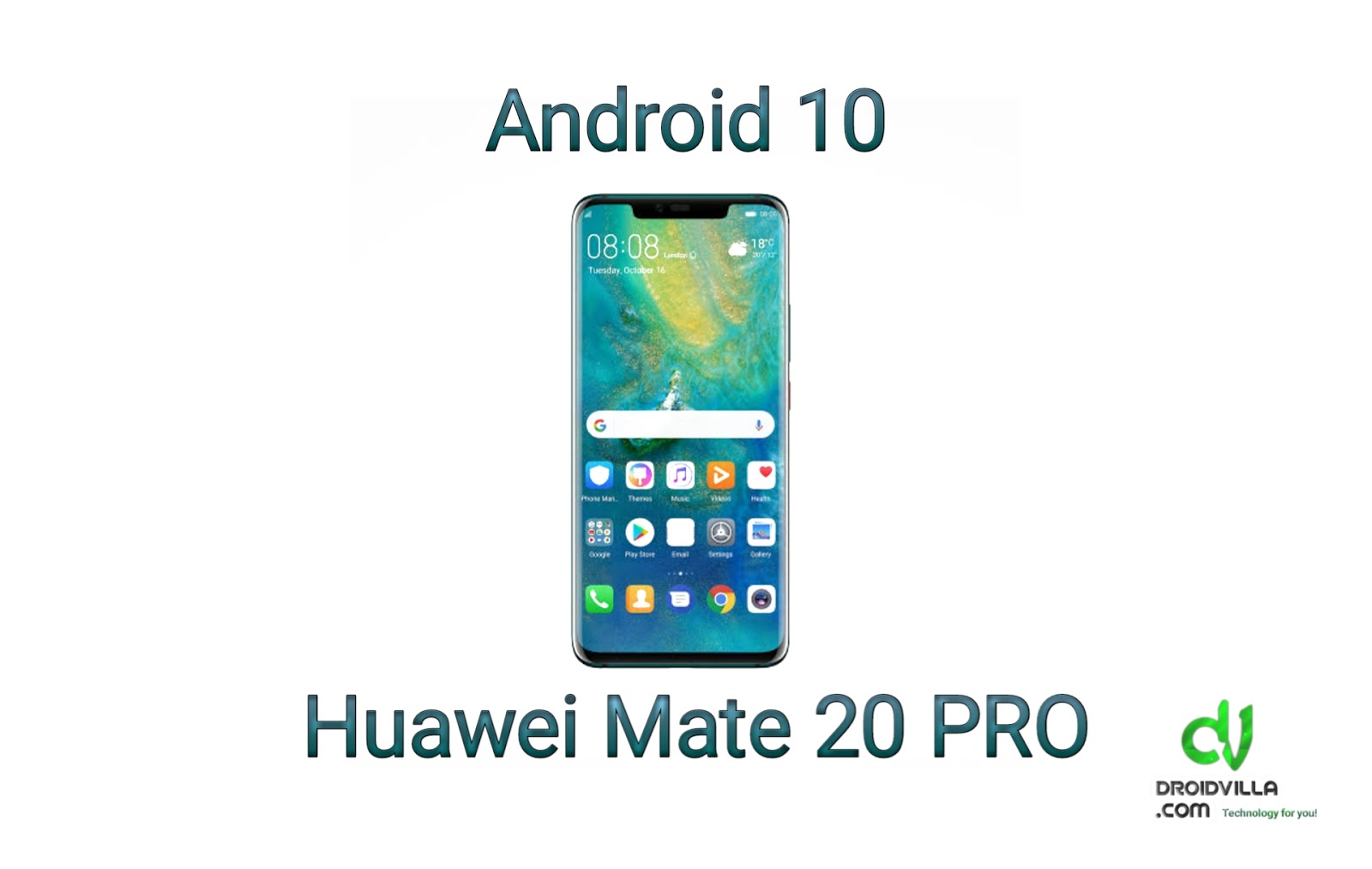 Huawei Mate 20 Pro receiving Android 10-based EMUI 10 :Update: In beta