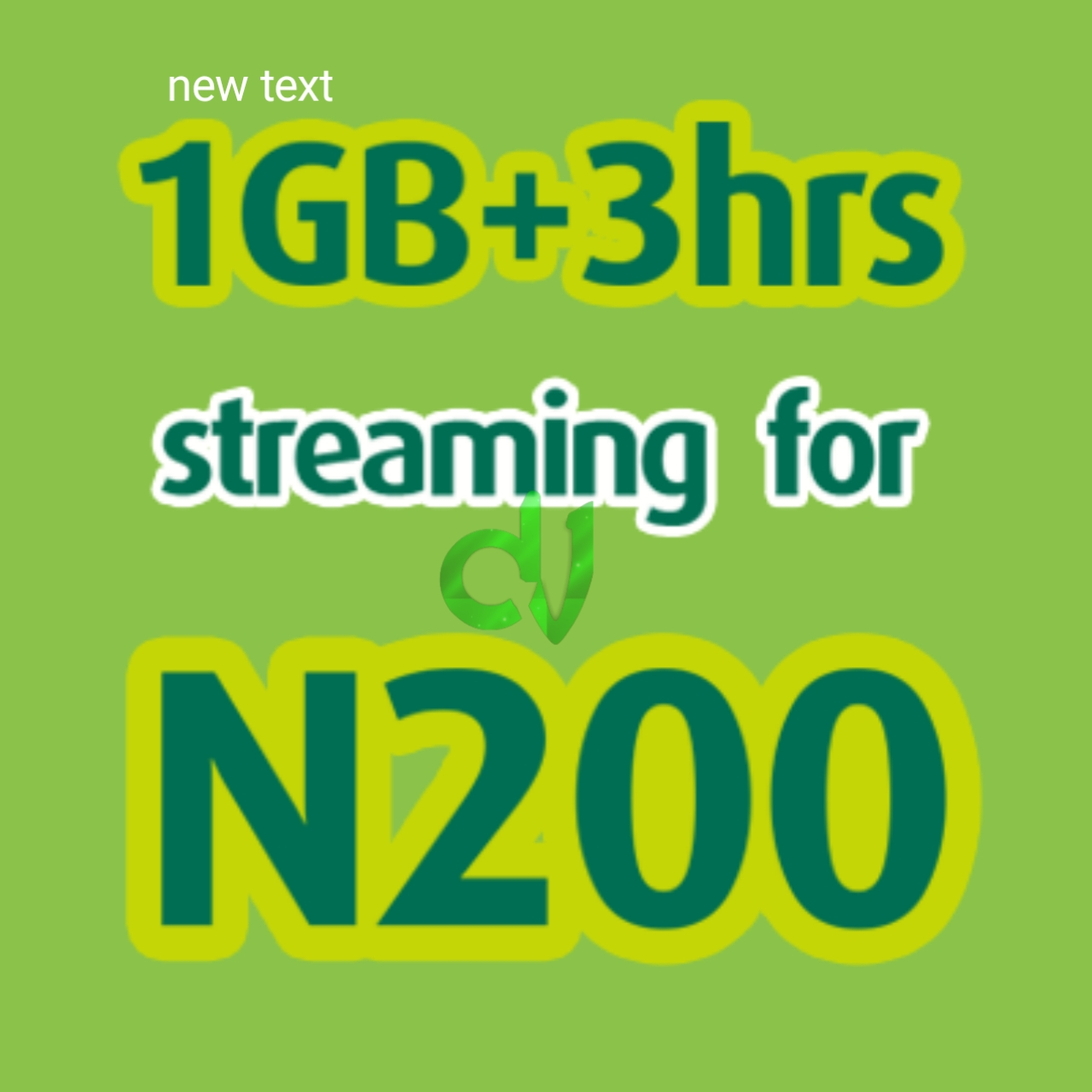 New 9mobile 1GB + 3 Hours Streaming For N200: See how