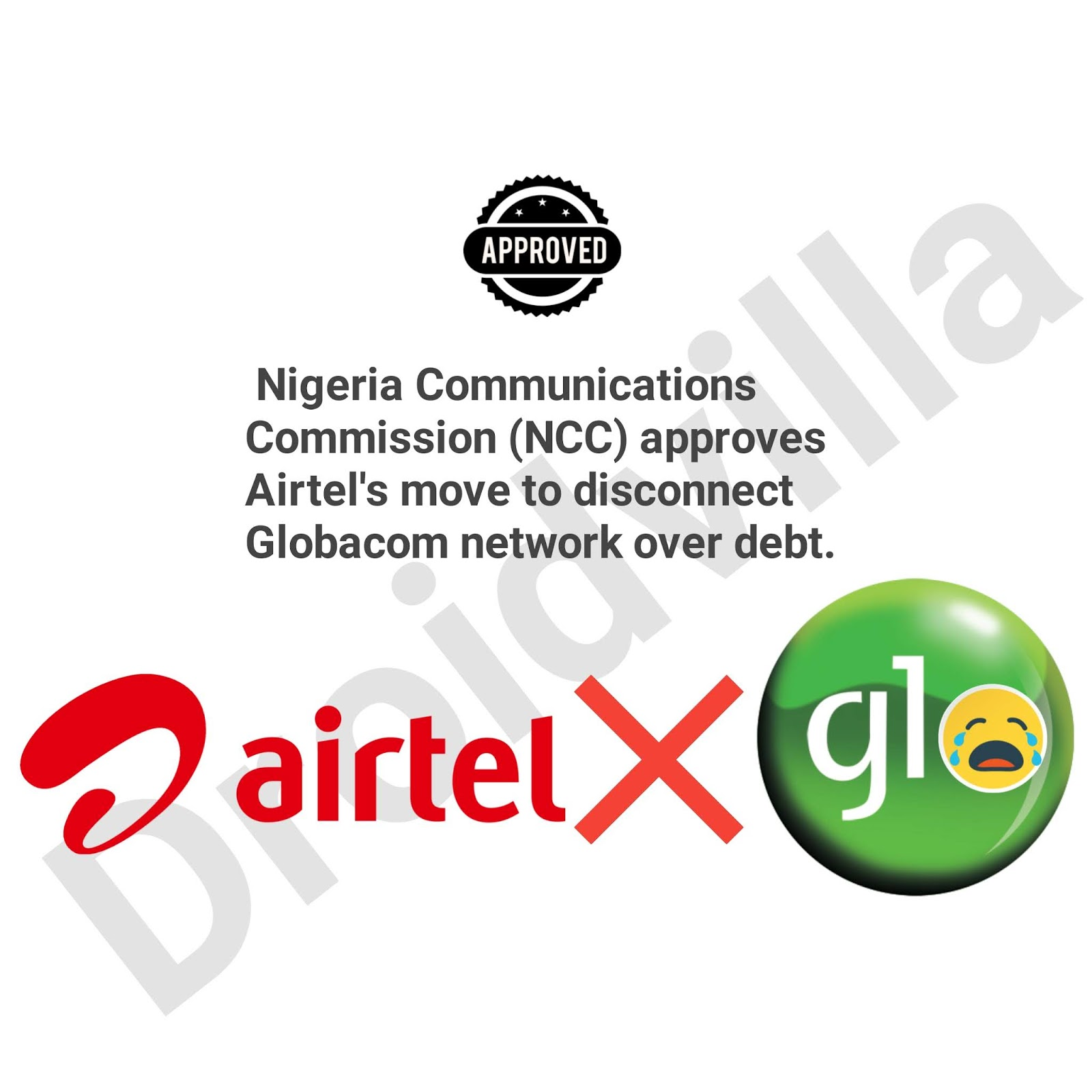 Airtel Disconnection of Globalcom network to take effect from October 28