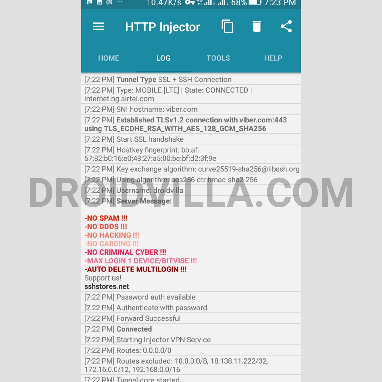 Updated 9mobile 2.5gb HTTP configuration files 2019