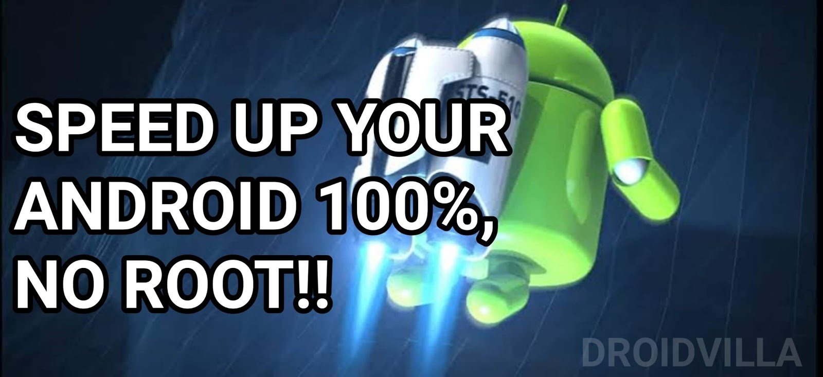 How to speed up your Android 2019