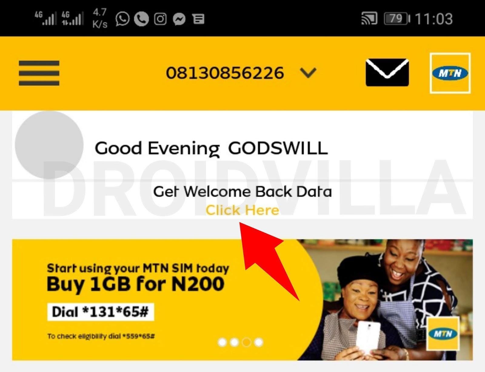 MTN Nigeria Introduces New Cheap MTN data offer n500 for 2gig valid for 14days