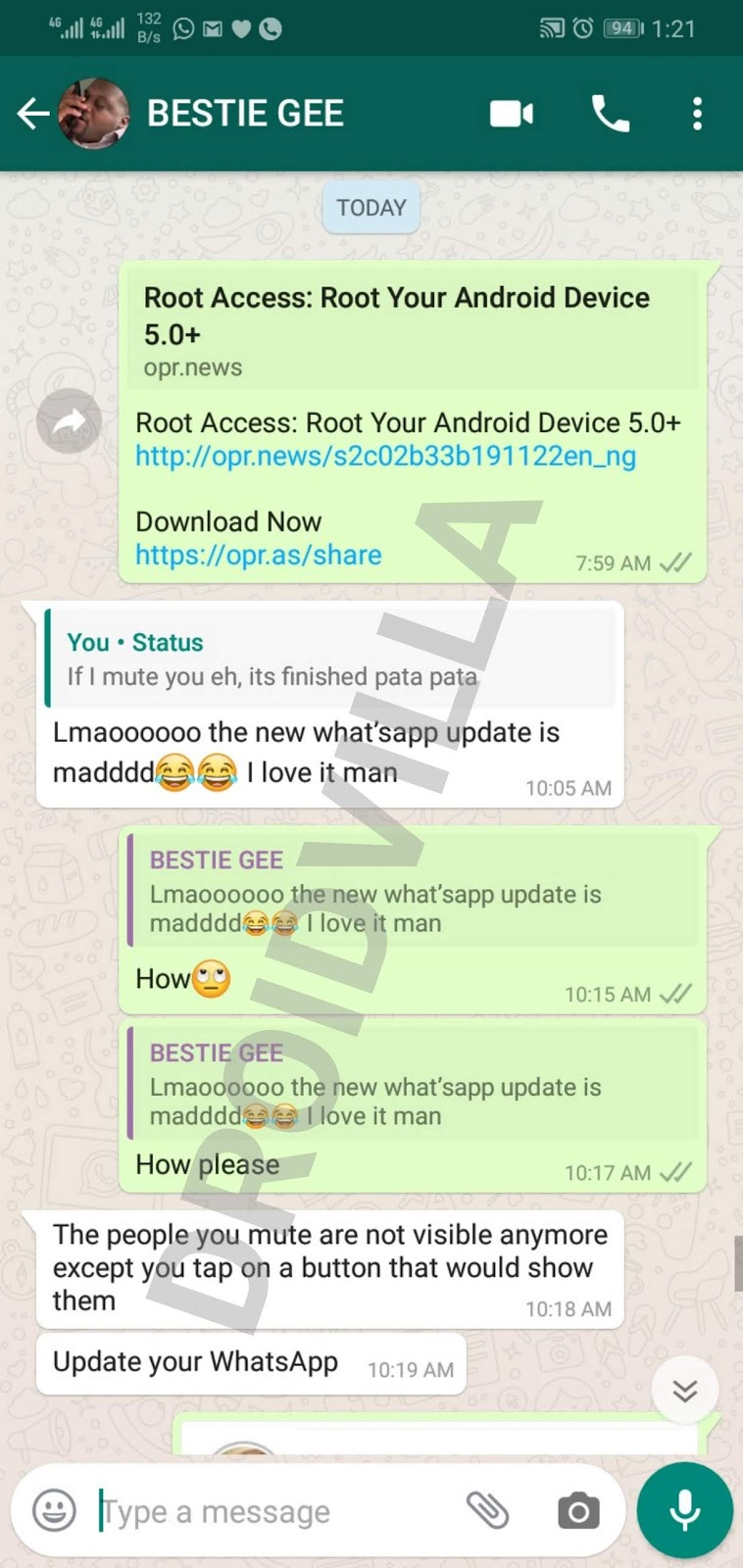 Whatsapp Update: Check out this new added feature on v 2.19.347