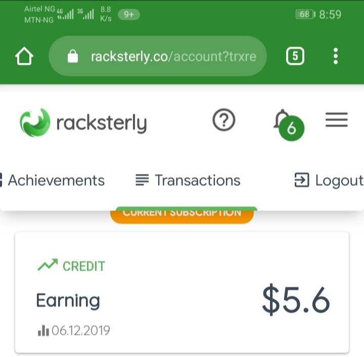 Racksterly Program: Share And Earn More Than N60,000 To Your Nigeria Bank Account