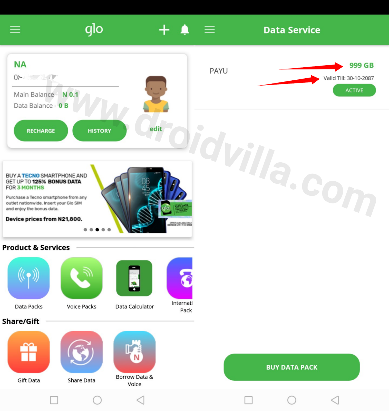 Glo Unlimited browsing Cheat update 2019