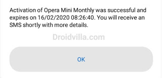 MTN Opera Mini Monthly was successful
