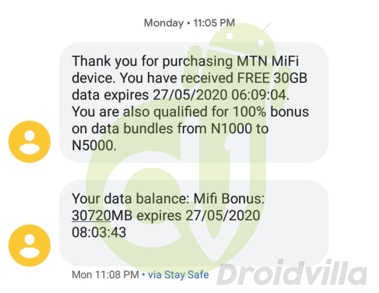 Activate free mtn 30gb
