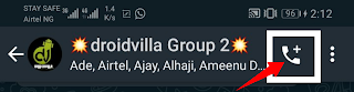 How to make whatsapp group chat calls