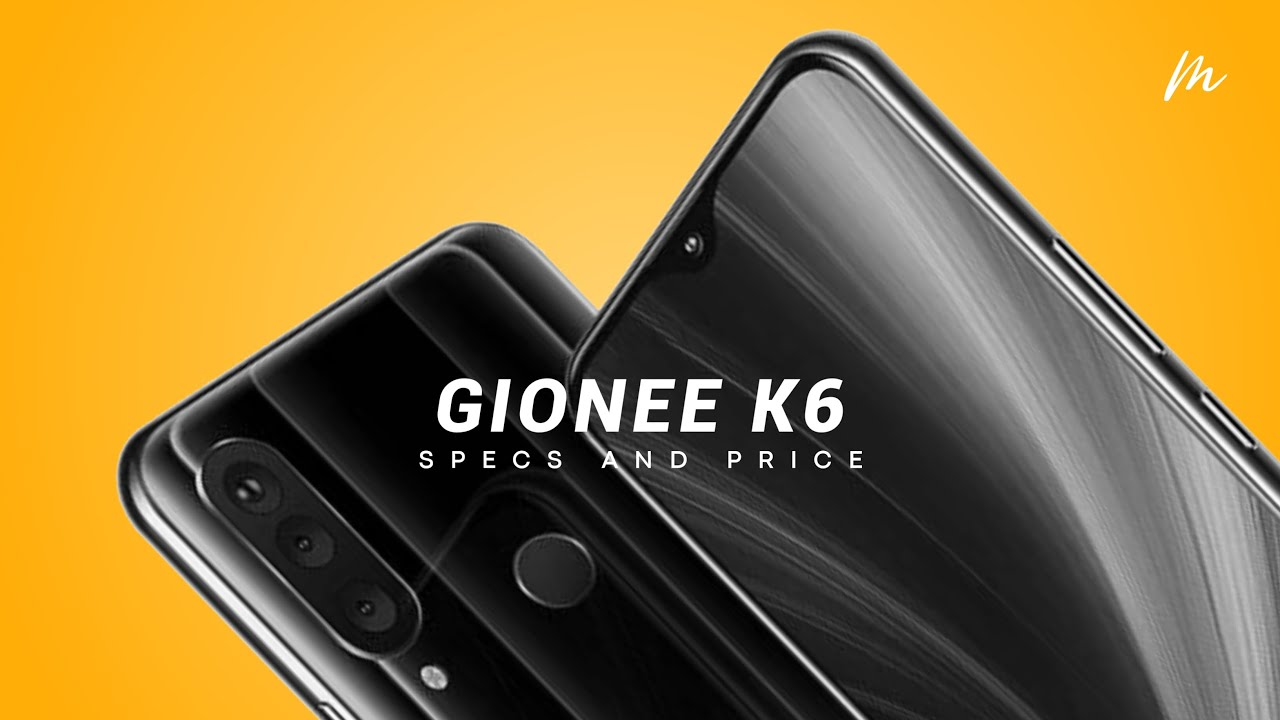 Gionee is back with a major release of K6 with Helio P60, 256gb and 8gb RAM storage