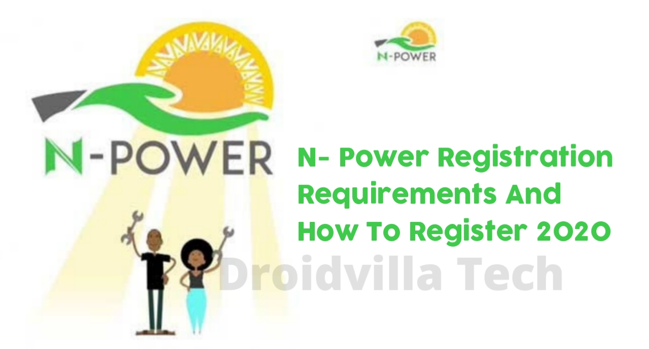 N-Power Batch C Registration Requirements And How To Register 2020