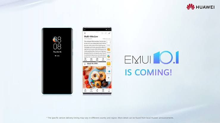 Huawei plans to rollout global EMUI 10.1 is revealed