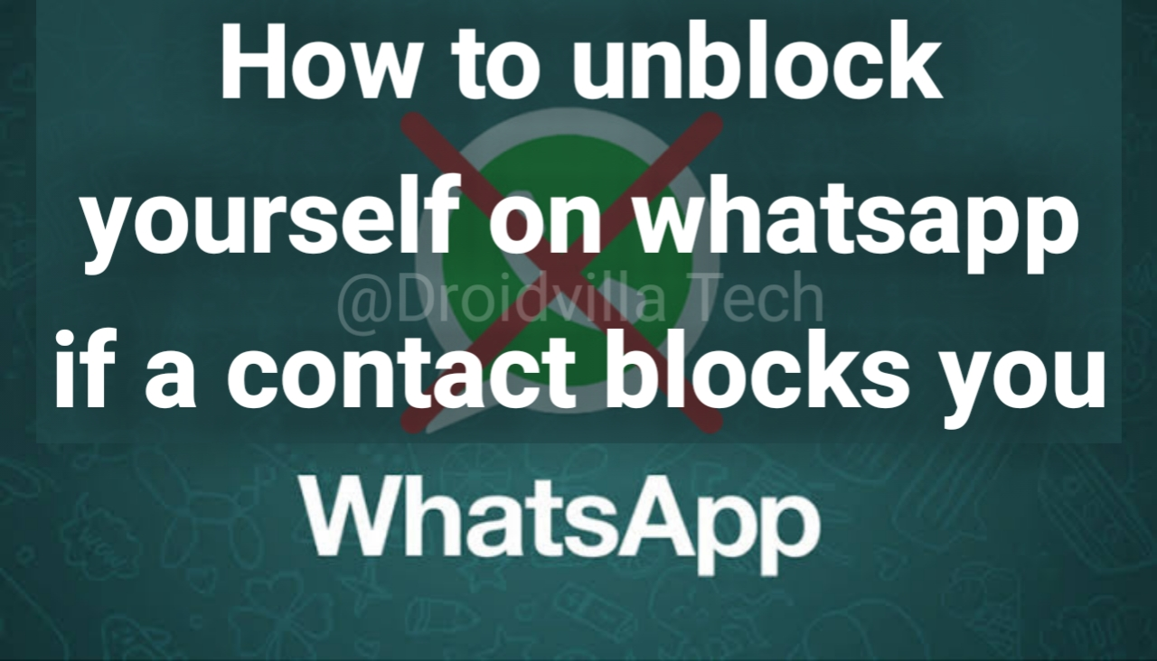 How To Unblock Yourself On Whatsapp If A Contact Blocks You In 2020
