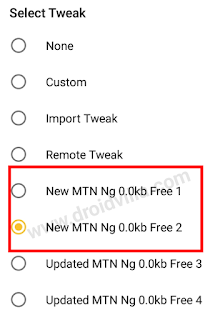 MTN 0.0kb unlimited free browsing cheat 2020