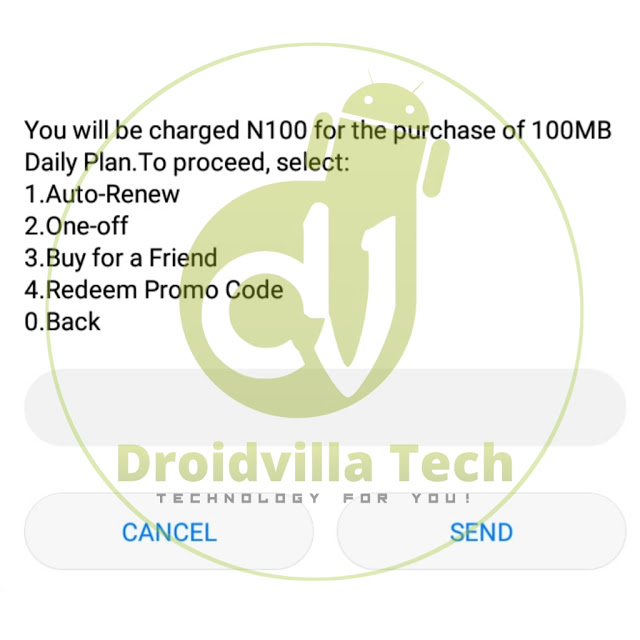 How To Activate MTN 100mb For N100 Only