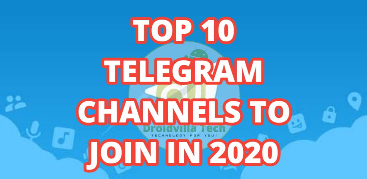Top 10 Telegram Channels To Join In 2020