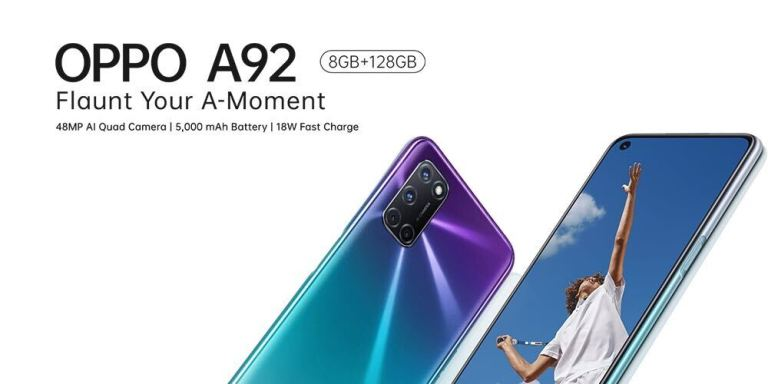 OPPO Mobile unveils OPPO A92: Here are the powerful features Nigerians will enjoy
