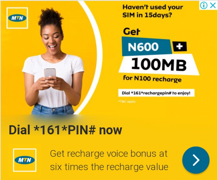 Mtn unlimited airtime and data