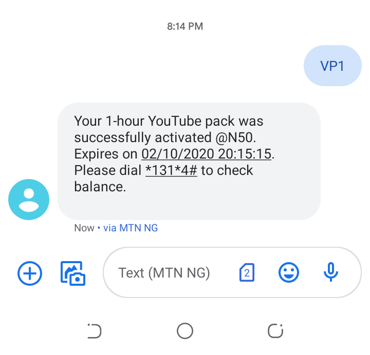 Youtube Unlimited N50 for 1hr