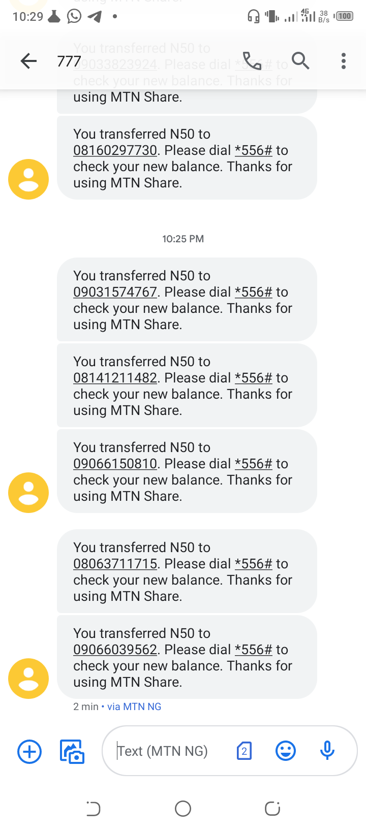 Unlimited mtn YouTube 1hr
