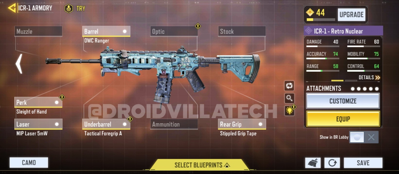 ICR-1 #3 Call Of Duty Mobile 2020