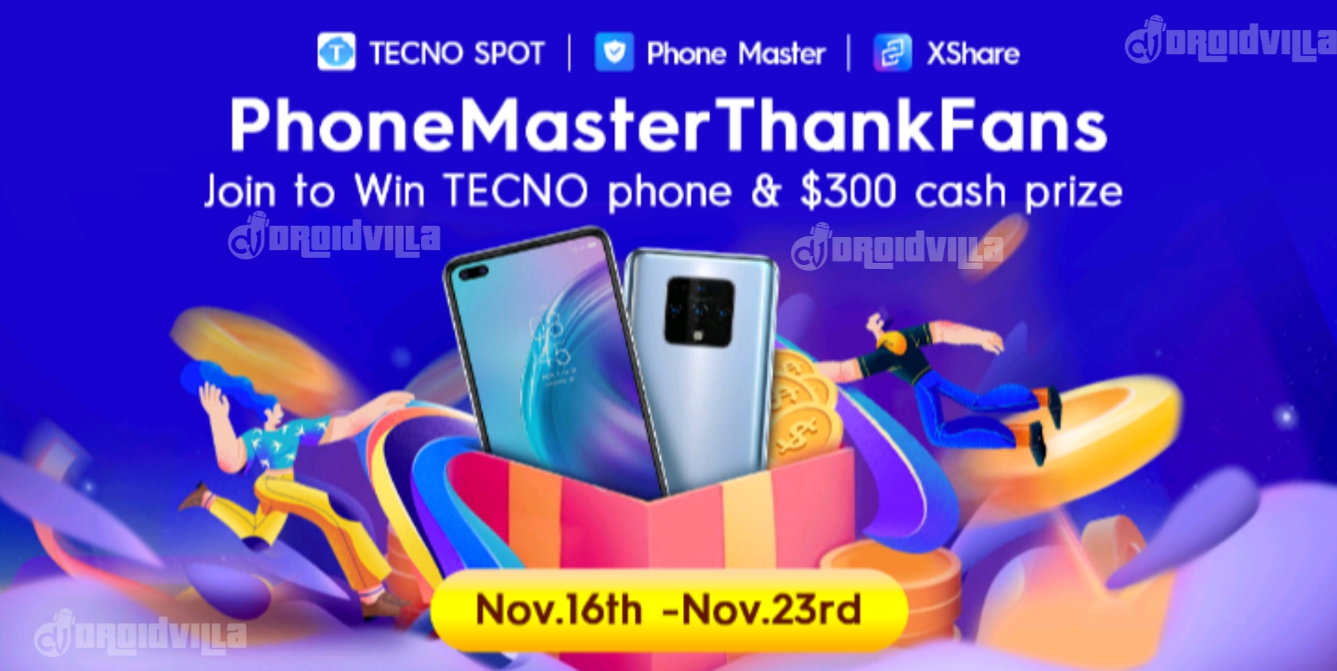 How To Participate and Win Free $20 During Tecno PhoneMasterThankFans 2020 Gift Promo