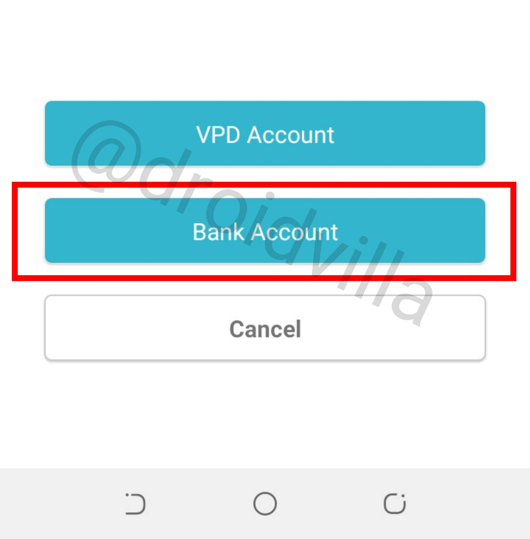 How To Withdraw VPD Money Referral Balance To Local Bank