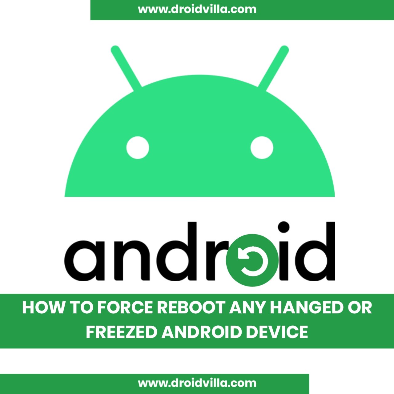 Reboot hanged or freezed Android device