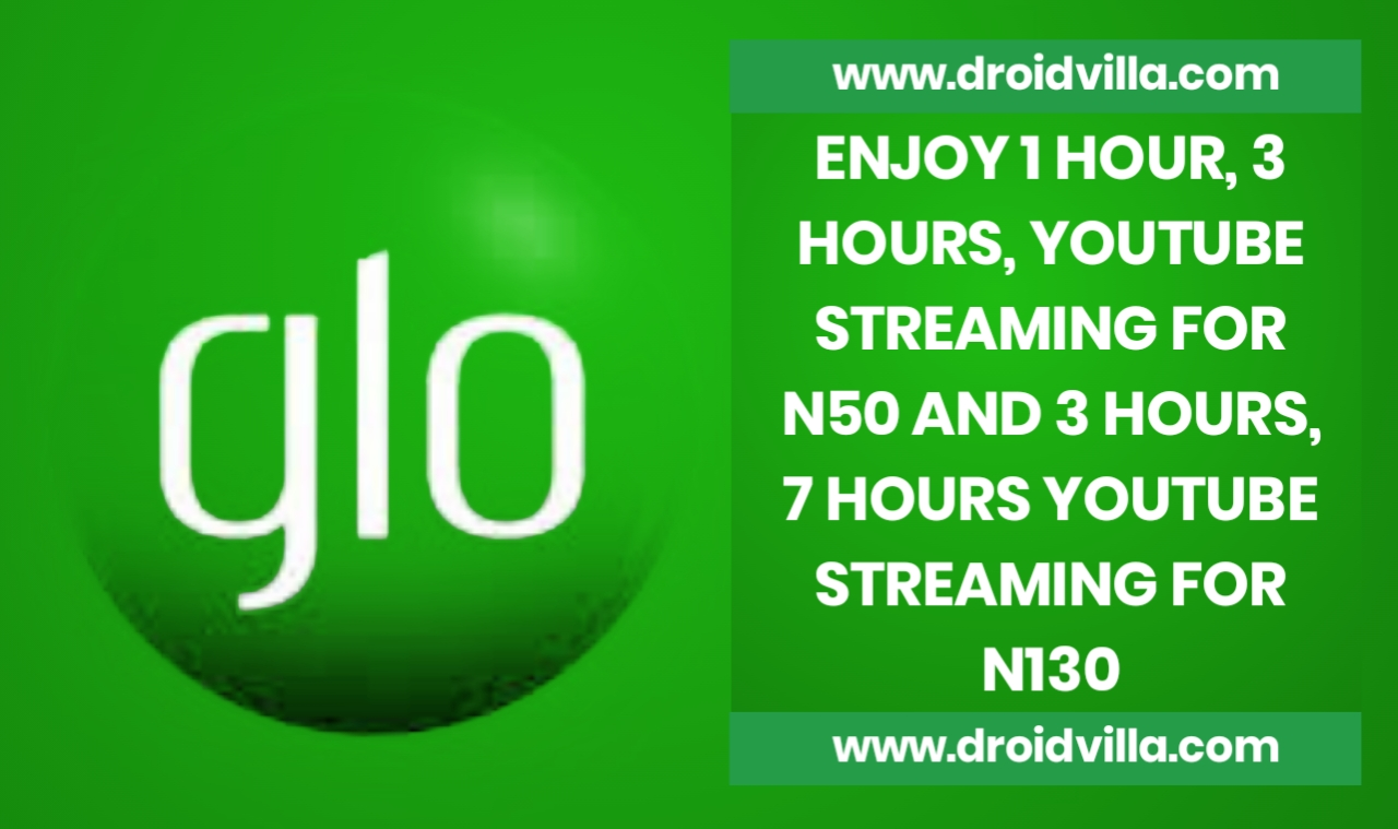 Glo YouTube night and day