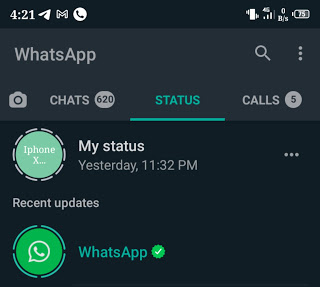 Whatsapp is now live on status to always give new privacy and security updates