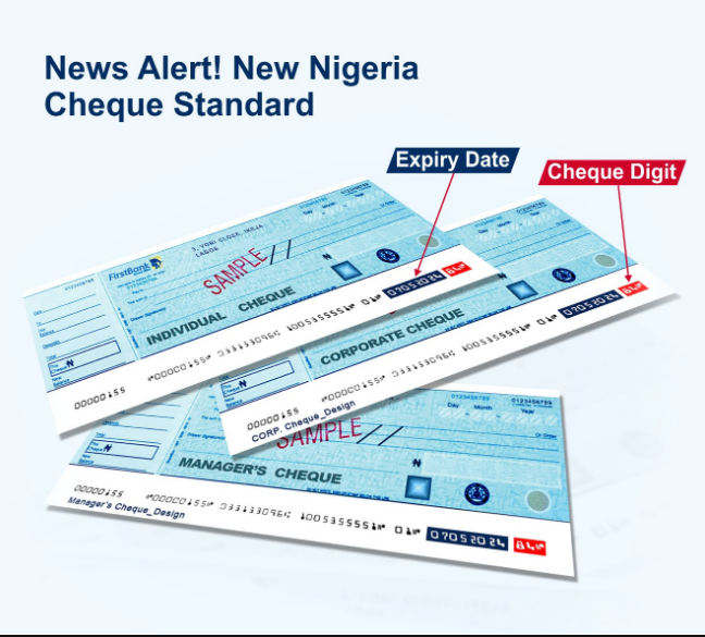 FirstBank Old cheques