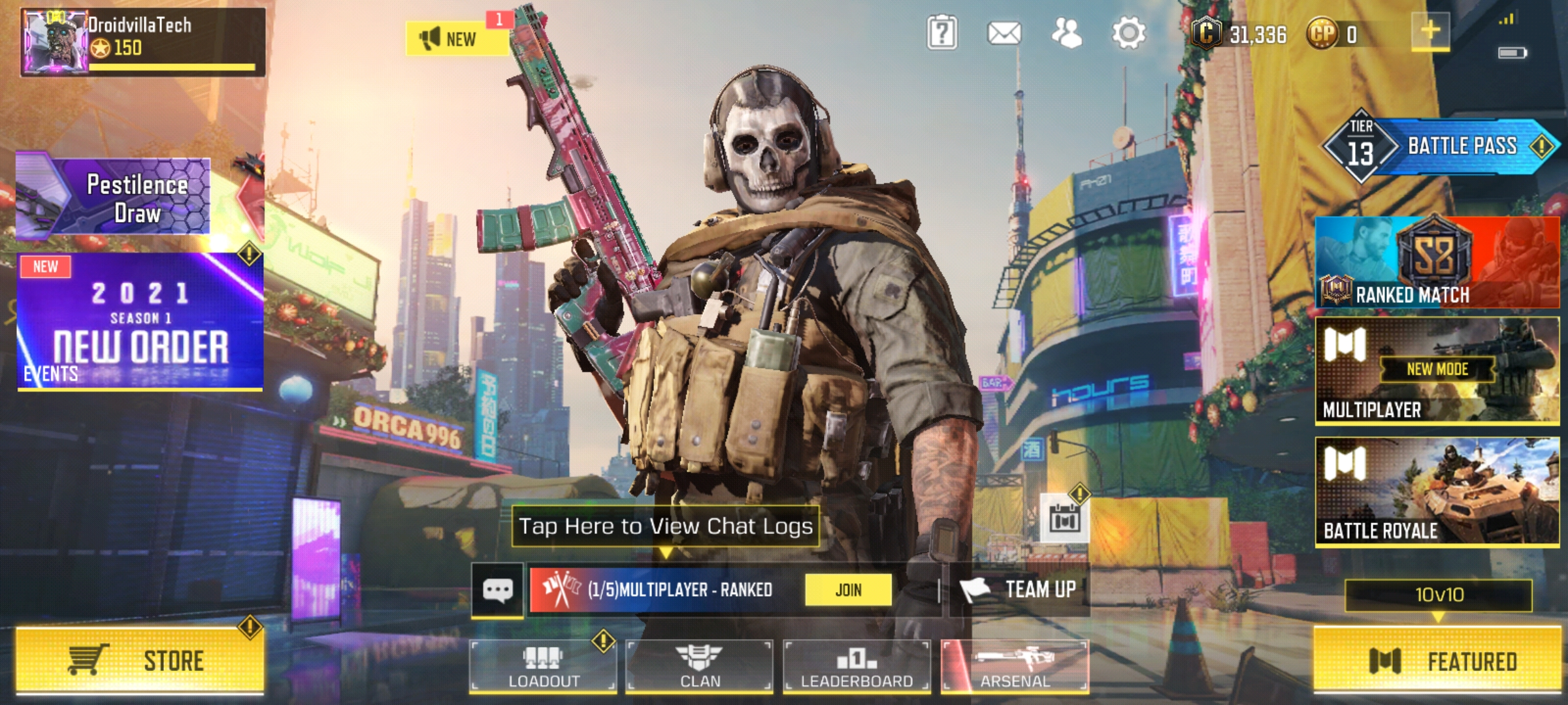 How to purchase COD Mobile name changing card with Coin balance