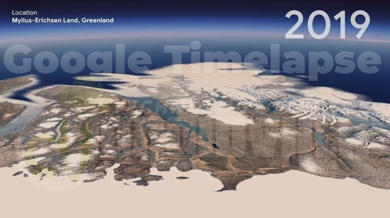 Google Earth's new timelapse feature
